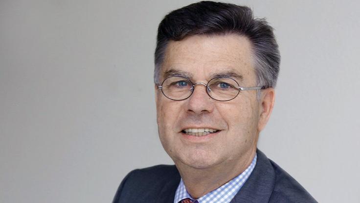 Adalbert Wandt Präsident des Bundesverbands Spedition Logistik und Entsorgung zu Besuch bei Schloms Umzüge