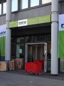 DKV Schönborn Consulting GmbH Auslagerung nach Renovierung der Büroräume