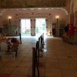 Aufbau im Prunksaal